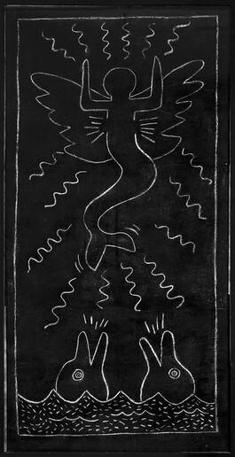 Keith Haring: Untitled Subway Drawing 13