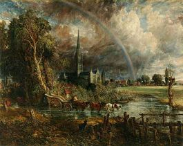 Constable: Salisbury Cathedral from the Meadows