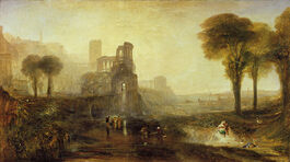 Turner: Caligulas Palace and Bridge exhibited