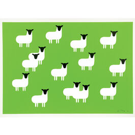Monro Sheep (unframed print)