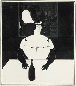 Aubrey Beardsley: The Fat Woman