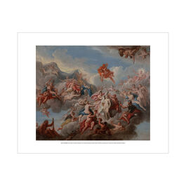 Louis Laguerre: The Creation of Pandora mini print