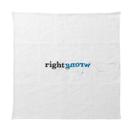 Cornelia Parker Right/Wrong special edition handkerchief