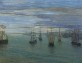 Whistler: Crepuscule in Flesh Colour and Green