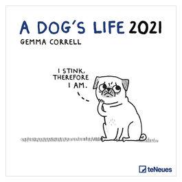 A Dog's Life 2021 calendar
