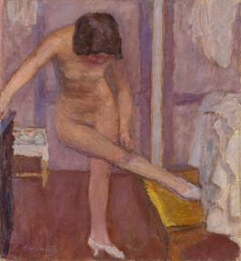 Pierre Bonnard: Nude Bending Down