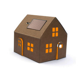 Casagami natural solar panel house