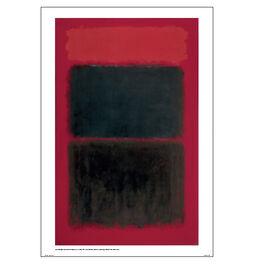 Light Red Over Black poster
