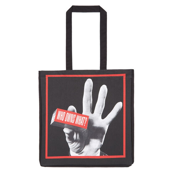 Who Owns What? tote bag