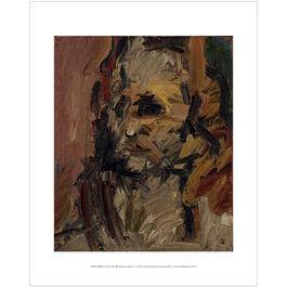 Frank Auerbach: Head of Jake mini print