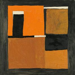 Scott: Orange, Black and White Composition
