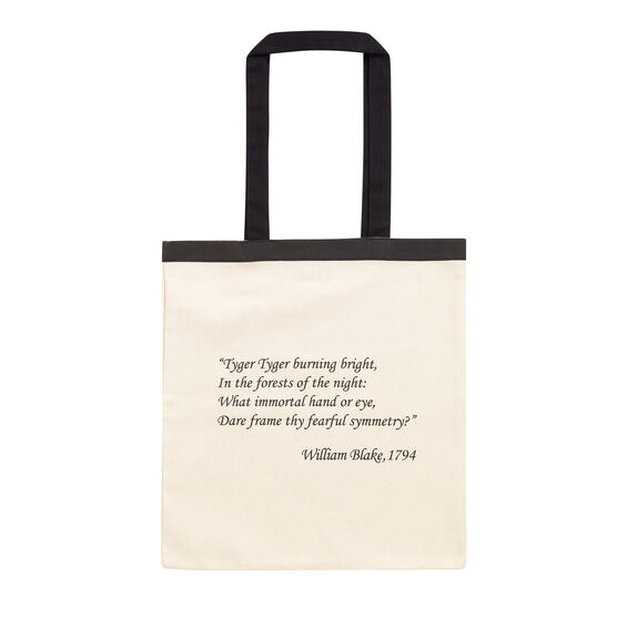 William Blake quote tote bag