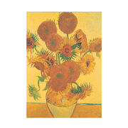 Van Gogh Sunflowers notepad