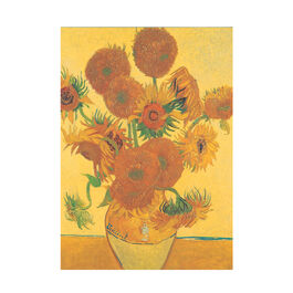 Van Gogh Sunflowers notepad
