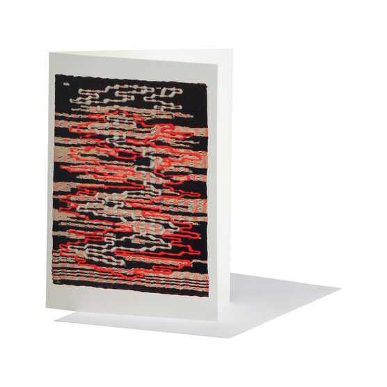 Anni Albers: Under Way greetings card
