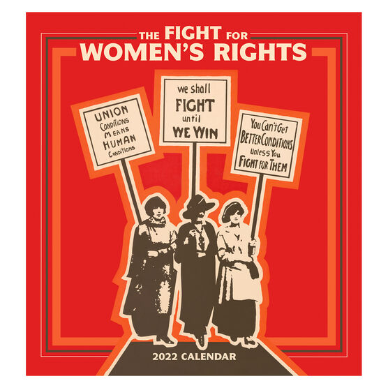 Fight for Women's Rights 2022 wall calendar