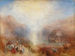 Turner: Mercury sent to Admonish Aeneas