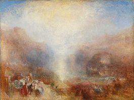Turner: Mercury sent to Admonish Aeneas