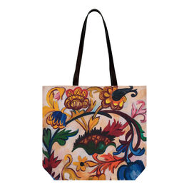 Natalia Goncharova The Ornament. Flowers (Mother of God triptych) tote bag
