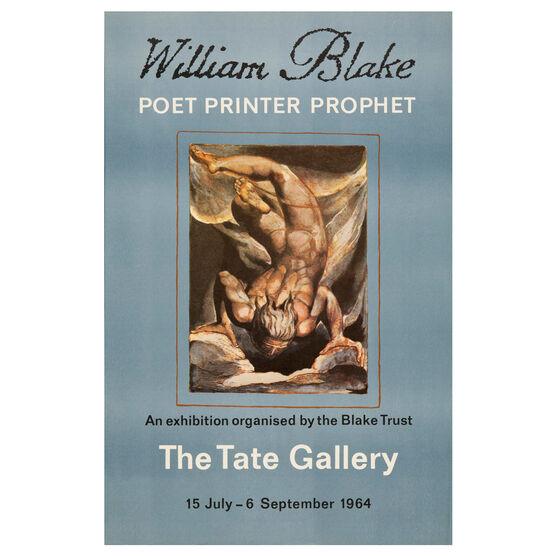 William Blake 1964 vintage poster