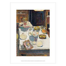 Pierre Bonnard: The Table exhibition print