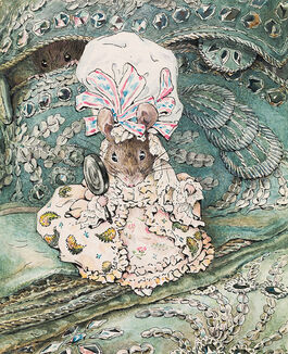 Helen Beatrix Potter: Lady Mouse in Mob Cap