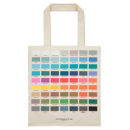 The Colours of St Ives tote bag