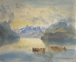 Turner: Lake Lucerne, The Bay of Uri