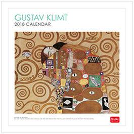 Klimt 2018 calendar