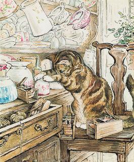 Helen Beatrix Potter: Simpkin Housekeeping