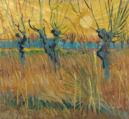 Vincent van Gogh: Pollarded Willows, Arles