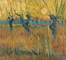 Vincent van Gogh: Pollarded Willows, Arles