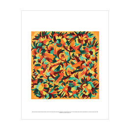 Natalia Goncharova: Ornamental Design with Birds and Flowers mini print