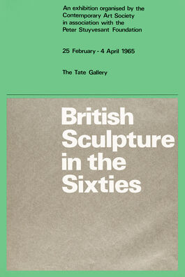 British Sculpture in the Sixties exhibition poster