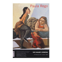 Tate Liverpool Paula Rego 1996 – 1997 exhibition poster