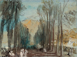 Turner: The Promenade de Sept-Heures at Spa