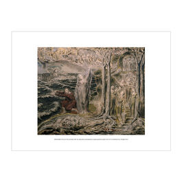 William Blake The Sea of Time and Space exhibition print
