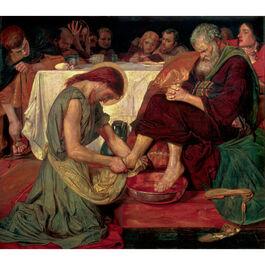 Brown: Jesus Washing Peter's Feet
