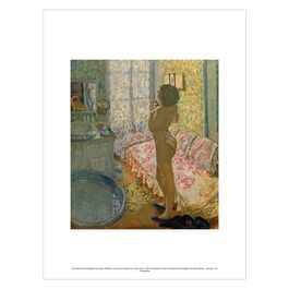 Pierre Bonnard: Nude Against the Light exhibition print