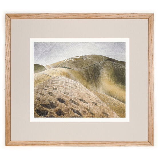 Ravilious The Vale of the White Horse (framed print)