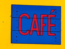 Caulfield: Café Sign