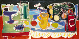 Patrick Heron: The Long Table with Fruit