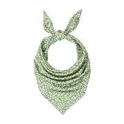 Anni Albers green E silk scarf