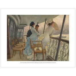 Tissot The Gallery of HMS Calcutta (mini print)