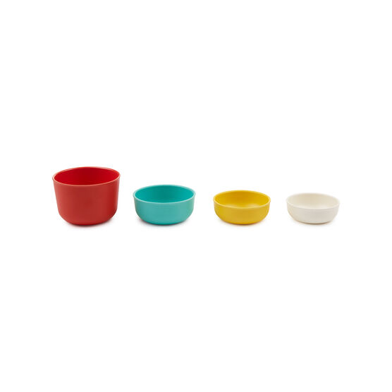 Pronto bamboo measuring cup set