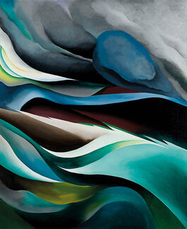 Georgia O'Keeffe: From the Lake No. 1