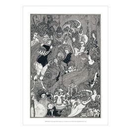 Aubrey Beardsley: The Cave of Spleen poster