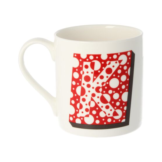 Alphabet of art mug - K