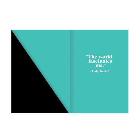 Andy Warhol Banana journal and postcard set
