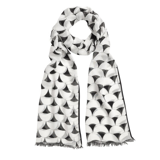 Tate Britain scallop tile scarf